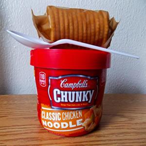 soup & crackers