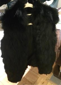 fur, vest