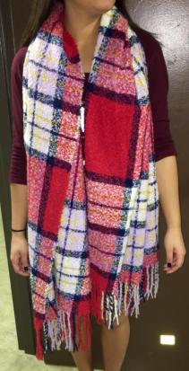 blanket, scarf, fashion