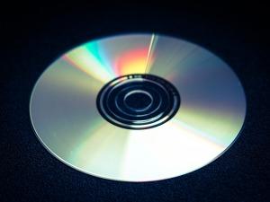 Computer Digital Data Glassy Dvd Cd Disk Blank