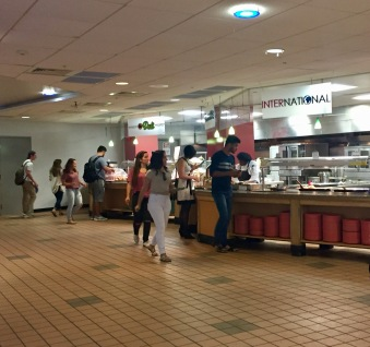 Be sure to get to know the dining options on your campus.