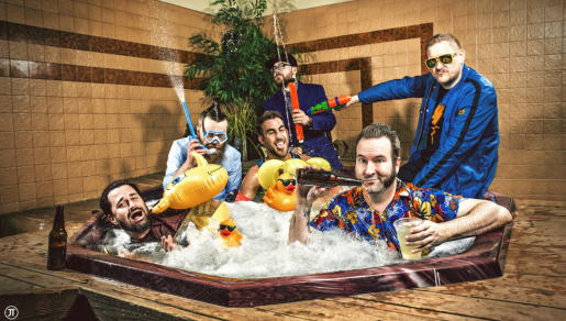 Reel Big Fish band photo, sent by publicist Mike Cubillos