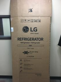 a large box