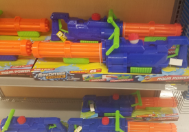 Adventure Force water guns blast up to 25 ft.