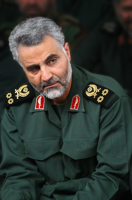 Iranian Major General Qasem Soleimani. Photo taken by sayyed shahab-o- din vajedi (under CC BY 4.0 no changes have been made)