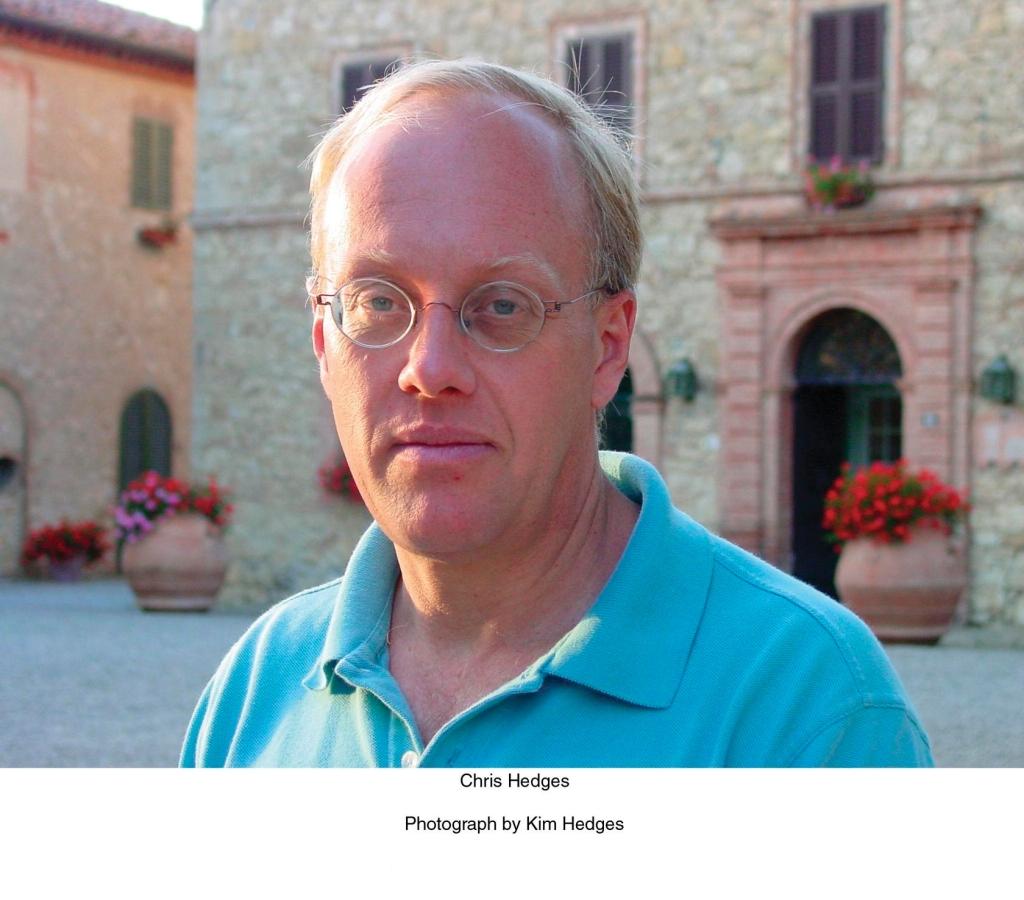 Author Chris Hedges.