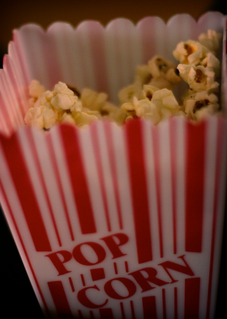 Buttery popcorn is an essential for a movie night at home. Photo by Ginny (under CC BY-SA 2.0, no changes have been made.)