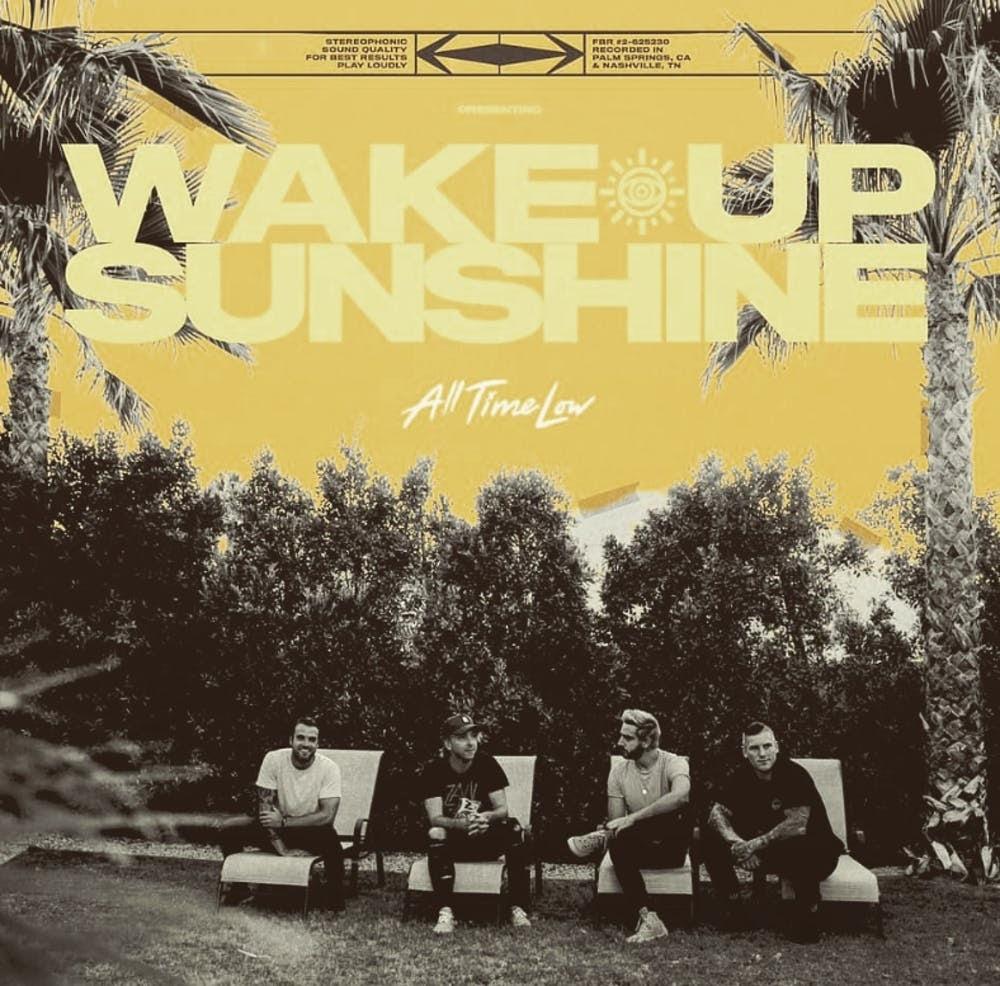 """Wake Up, Sunshine"" album cover."