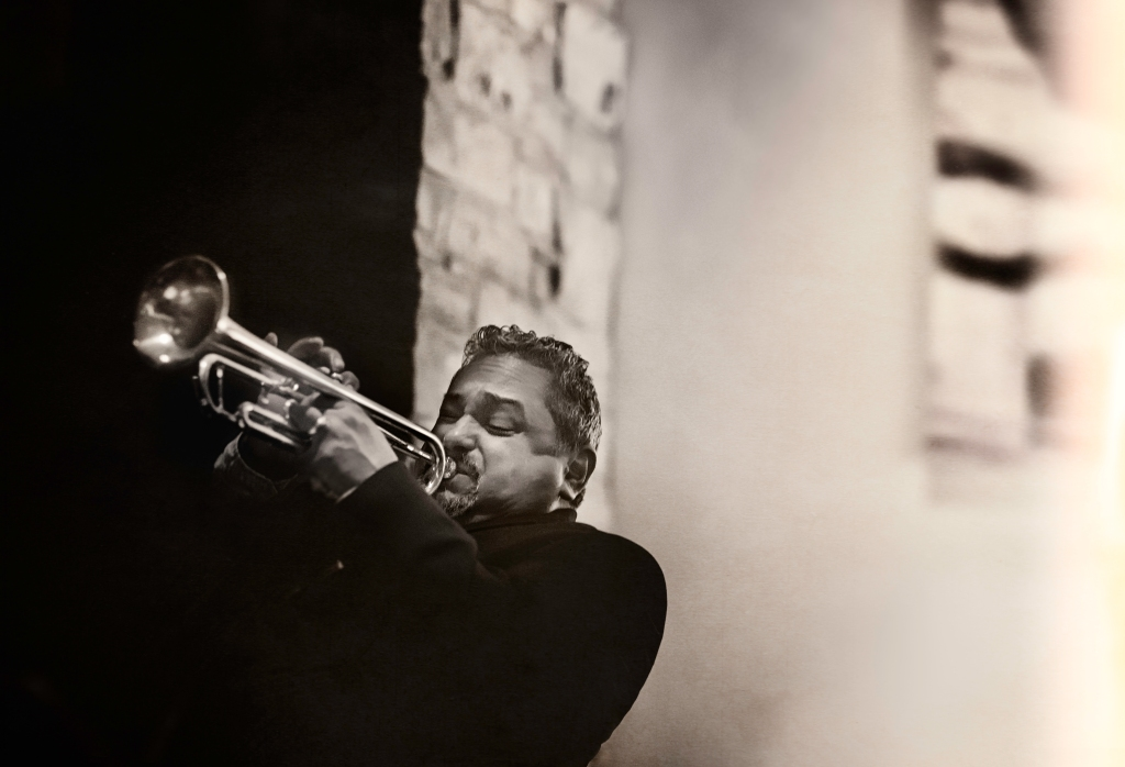 Jazz trumpeter Ray Vega (photo by Seth Cashman).