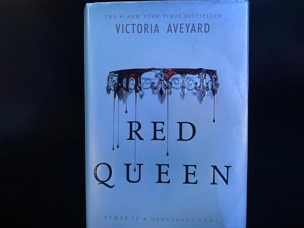"Front cover of ""Red Queen."""
