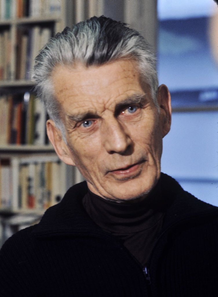 The author declined to say: Samuel Beckett in 1977 (photo by Roger Pic).